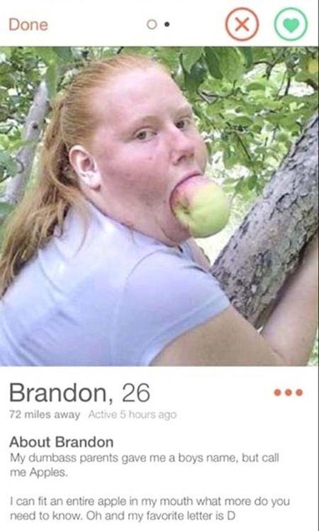 funny tinder profiles, tinder profile fails, weird tinder profiles