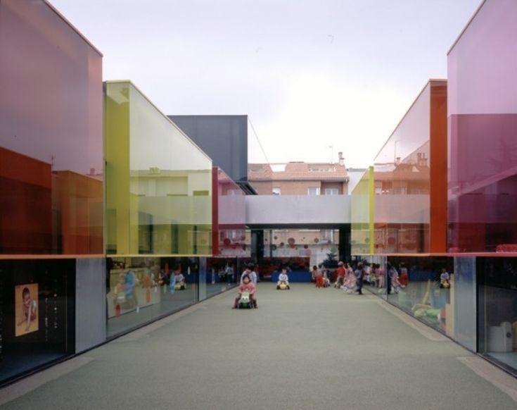 """""""Els Colors"""" Nursery in Barcelona, Spain / RCR Arquitectes"""