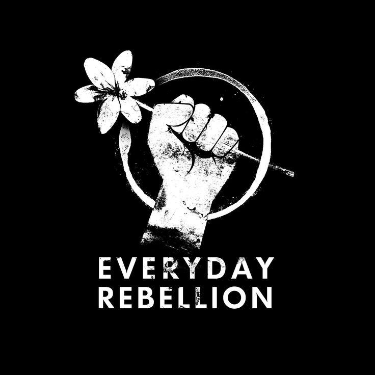 Everyday Rebellion Fist | LOGOS | Pinterest