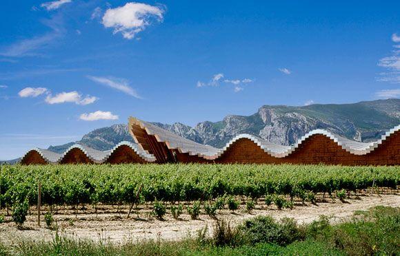 Top 5 Design Wineries in La Rioja, Spain : Bodegas Ysios