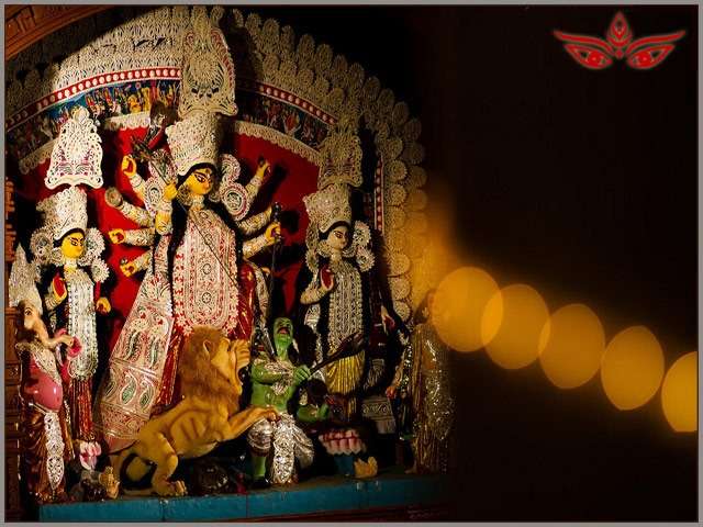 Durga Puja symbolizes homecoming of Maa Durga for five days to her matrimonial home from Kailash.