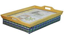 Mobility Wooden Bean Bag Lap Tray with Solid Wooden Handles - BNIB