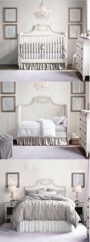 From Crib To Toddler Bed Beautiful Headboard Rhbabyandchild Fallinlove