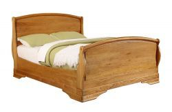 Chateau Oak 6' Bed http://solidwoodfurniture.co/product-details-oak-furnitures-3092-chateau-oak-bed.html