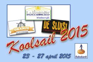 """Koolsail 2015: van 23 t/m 27 april. Een groots vijfdaags feest op en rond het water van Langedijk. Gedurende vijf dagen ligt de haven van Broek op Langedijk vol met historische schepen die 's avonds mooi verlicht zijn. Vijf dagen lang worden er tal van activiteiten georganiseerd in de dorpen van Langedijk, waaronder het bekende """"Van Sluis tot Sluis"""", en nog veel meer........................"""