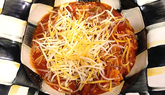 Turkey Chili: An easy recipe to throw together on a weeknight!