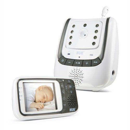 Nuk vigila bebé con cámara regulable, se puede hablar al bebé, sin interferencias, seguro y fiable