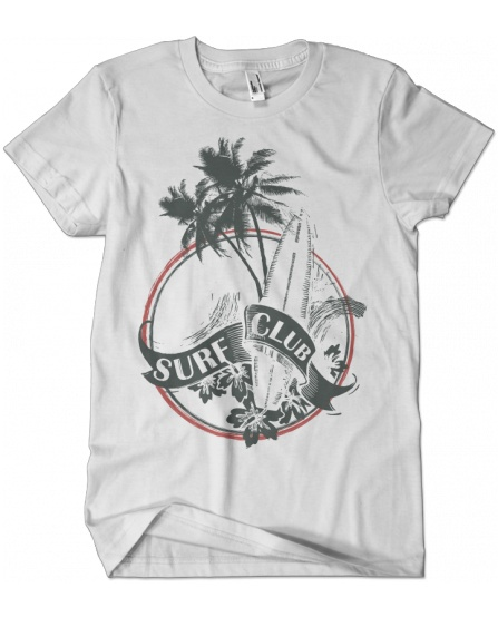 """Surf club beach"" tee"