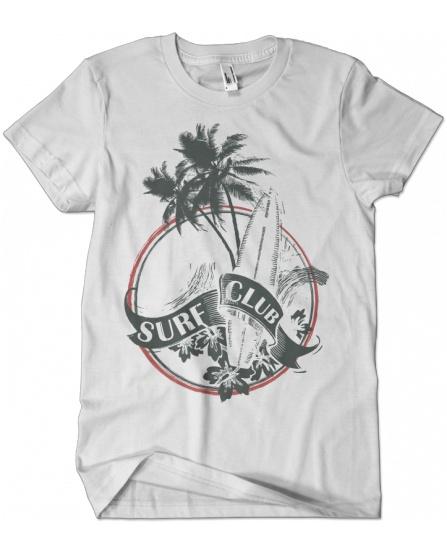 """""""Surf club beach"""" tee"""