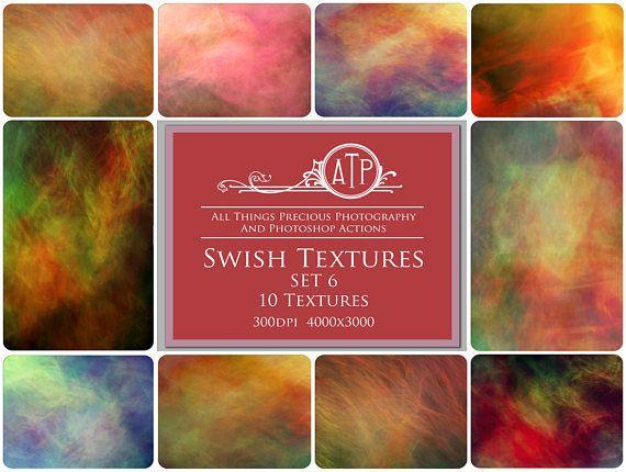 Fine Art Digital SWISH Textures / Overlays  SET 6