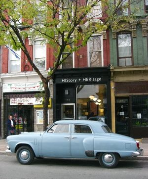 HIStory + HERitage is #Hamilton's 1st storefront #museum. Unique exhibitions and historical content celebrating the men and women that have helped shape the city. James Street North