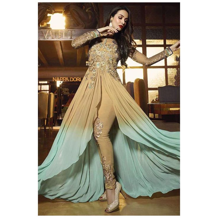 PRODUCT : Malaika Arora Khan beige georgette designer suit. Beautified with embroidered and resham work all synchronized PC: 6491PAYMENT - COD/Bank Transfer  For PRICE & BOOK YOUR ORDE Do WHATSAPP +91-99-09-09-1413  Free Home Delivery  #mrandmrsbrand #traditional #indianwear #ethnic #stylisht #rampstyle #edd #ramjan #festival #designerfashion #luxury #fashionstylist #dubaishopping #ankellength #design #manishmalhotra #lamefashion #ramjaneid2016 #eid2016 #onlinedress #sonalchauhan #pakist