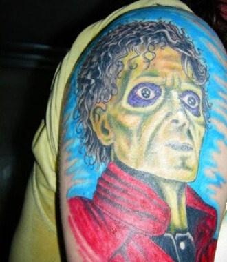 Michael Jackson. Thriller.: Tattoo Ideas, Tasting Tattoo, Thrillers Tattoo, Awesome Tattoo, Tasteful Tattoos, Michaeljackson, Creepy Thrillers, 80S Tattoo, Forever Thrillers