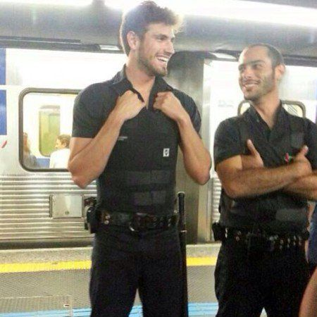 segurança metro