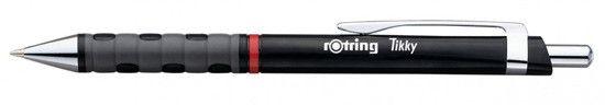 Rotring Tikky Black Ballpoint Pen