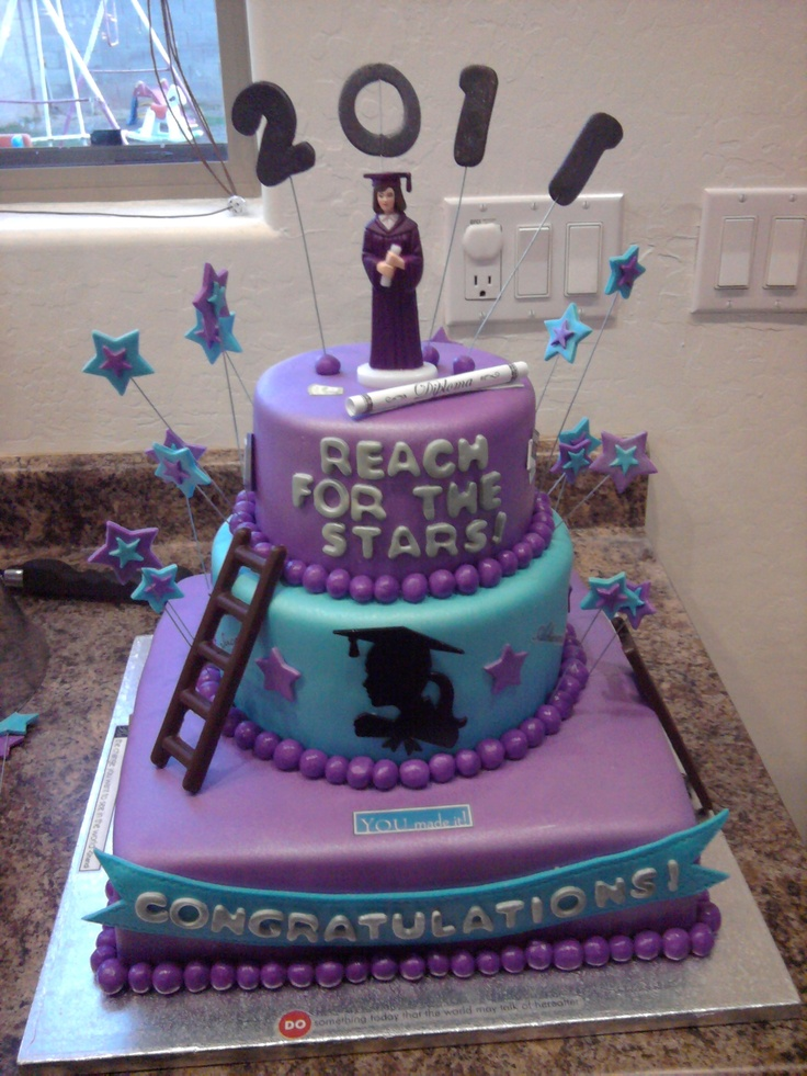 Cake Decorations Blue Stars : 17 Best images about Graduation Cakes on Pinterest ...