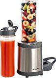 #8: Secura 300W Personal Blender Smoothie Maker Stainless Steel Blade 2 Sports Bottles (2 year warranty)