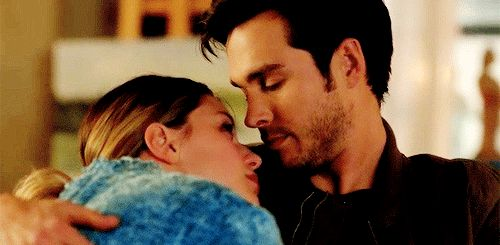 "I am shipping so hard for these two!!! (Gif from wannabeciles on tumblr)  |TV Shows||CW||#Supergirl gifs||Season 2||2x14||""Homecoming""