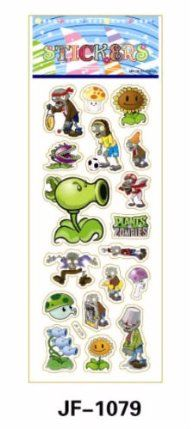 TY0007(JF-1079) Plants Zombies Stickers, Soft Vinyl Plastic Non-Toxic Kid Stickers, 2 Pcs by Generic Quality Non-Branded. $0.01. Quality durable soft vinyl plastic. odorless and non-toxic. 90 Days Satisfaction & Money Back Guarantee!. child-safe materials. Our Prices Are Unbeatable! NOTE: We Ship By International Air Mail. Delivery Time: 2 to 3 Weeks (Please Be Patient!). TY0007(JF-1079) Plants Zombies Stickers, Soft Vinyl Plastic Non-Toxic Kid Stickers, 2 Pcs