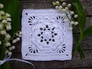 Granny square Mai, free pattern