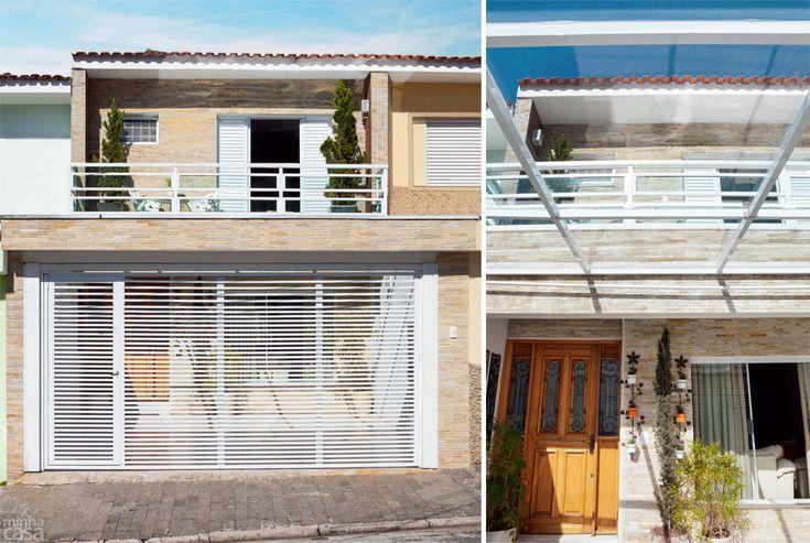 Fachadas 9 casas para se inspirar fachadas for Fachadas de apartamentos pequenos