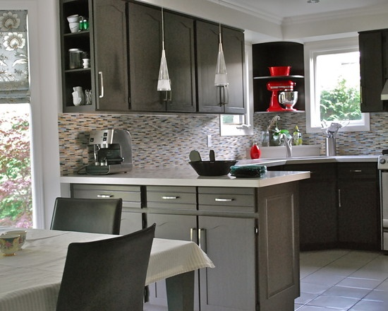 Kitchen Remodel Gray Cabinets 128 best grey kitchens images on pinterest | home, architecture