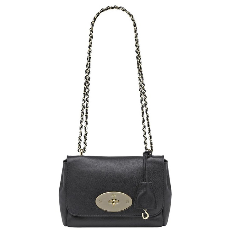 Mulberry - Lily in Black Soft Spongy Leather