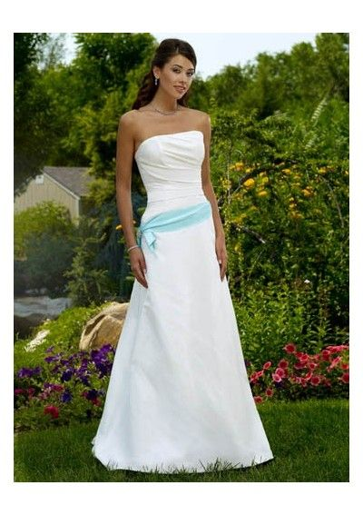 Simple wedding dresses a collection of ideas to try about for Strapless summer wedding dresses