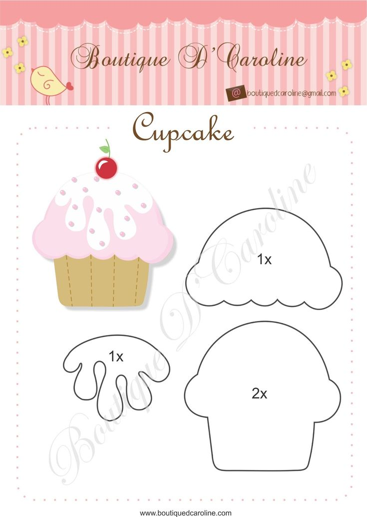 Atelier - Boutique D 'Caroline: Cast and Cupcake tags - Free