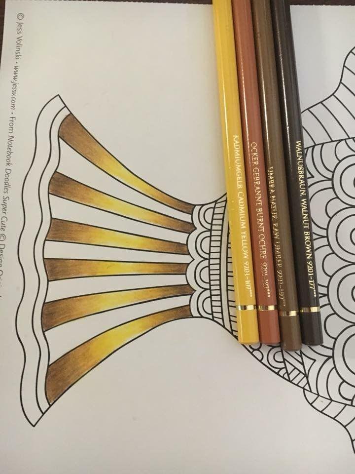 Polychromos Gold Combination By Carolyn Speir Polychromos Farbstift Tutorial Farbstift Kunst
