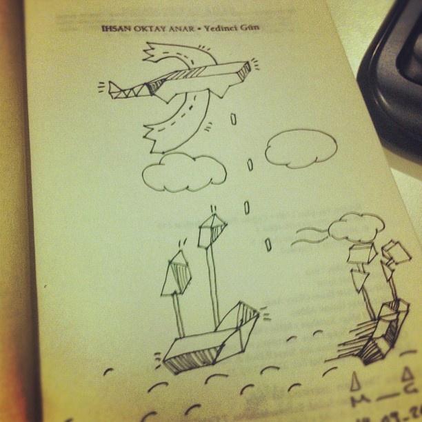 alternative book cover | ihsan oktay anar - yedinci gun #bookcover #design #artwork #me - @ceymis coys- #webstagram