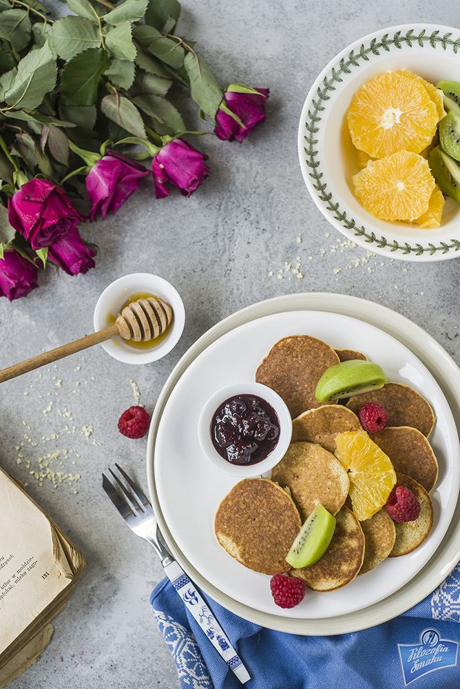 Gluten-free Delicious Millet Pancakes /Pyszne bezglutenowe placuszki jaglane