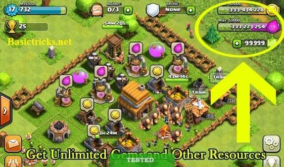 Coc Apk Mod Unlimited Download Clash Of Clans Hack Clash Of