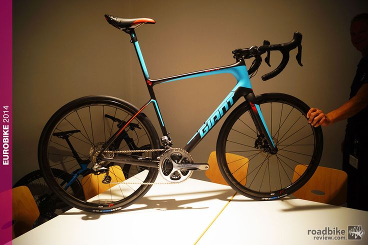 2015 Giant Defy Advanced SL... Lightest road frame ever produced by world's largest bike maker