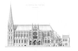 GOTHIC: 1100s-1300s. Europe. Popular for religious structures. Features pointed arches, buttressing, ribbed vaults. Allowed for thinner walls, larger glass windows. Vaults constructed over bays that were square, rectangular, irregularly shaped.