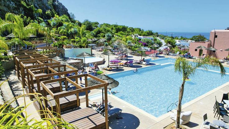Finas Hotel and Apartments, Pefkos Rhodes, £438 - Gorgeous hotel, nice mountains, great location