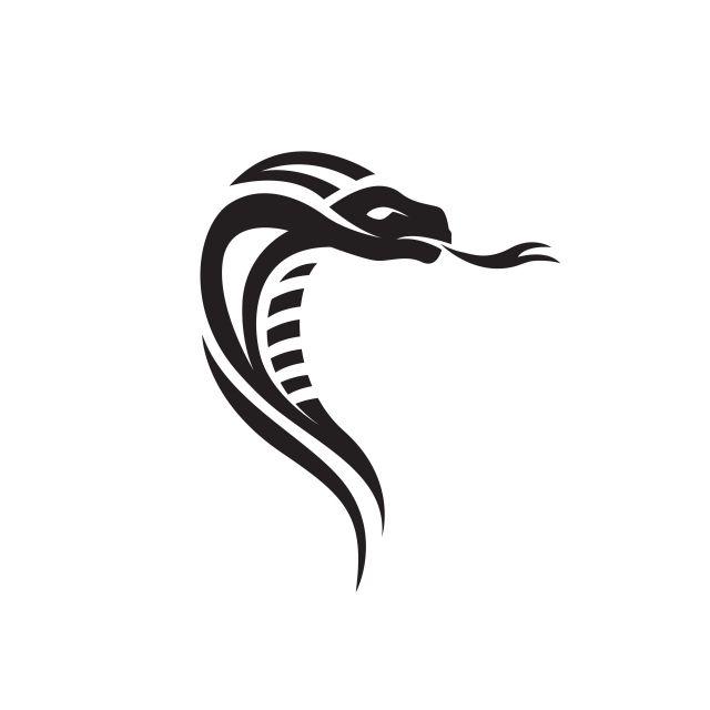 Viper Snake Logo Design Element Danger Snake Icon Viper Cobra