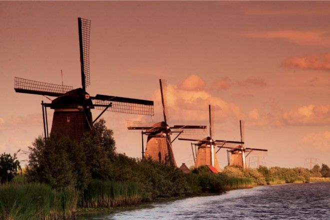 Kinderdijk, The Netherlands   1,000,000 Places