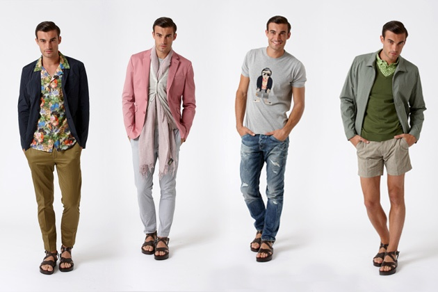The man of the Dondup Spring Summer: A paradox Gainsbourg style