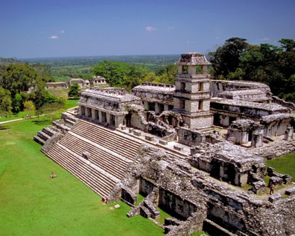 Mayan ruin Palenque