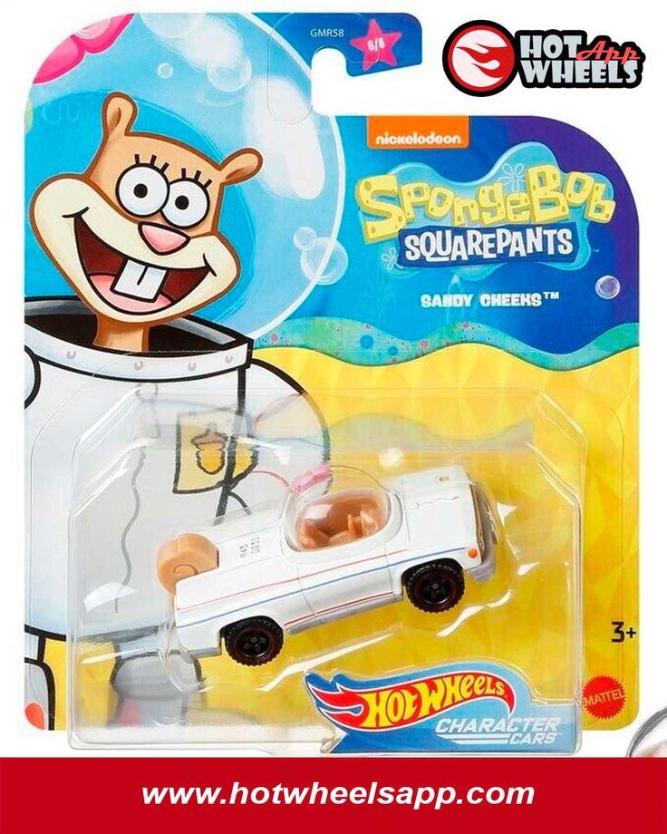 Sandy Cheeks in 2020   Hot wheels, Spongebob, Squarepants