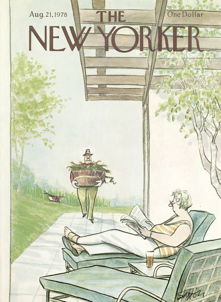 The New Yorker - Monday, August 21, 1978 - Issue # 2792 - Vol. 54 - N° 27 - Cover by : Charles Saxon