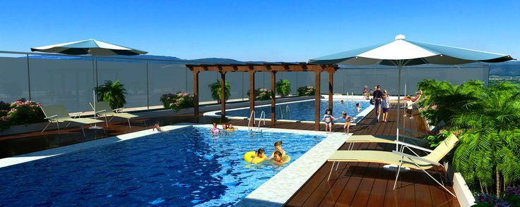 Our Project #EarthVillament Amenities Picture of Private Swimming Pool