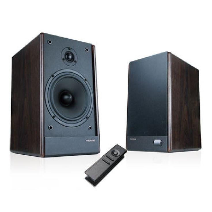 Microlab SOLO6C, High Fidelity Bookshelf Stereo Speaker - Wooden Colour