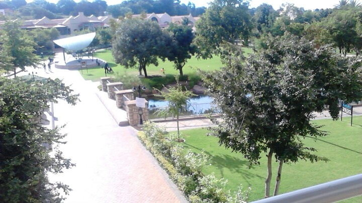 A chilled day at Brightwater commons mall, Johannesburg