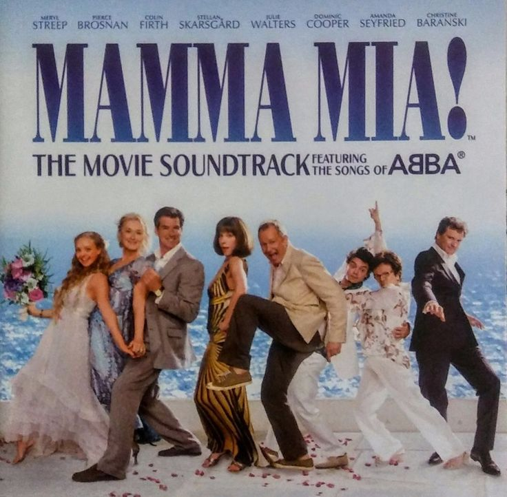 Mamma Mia! The Movie Soundtrack CD Featuring the Songs of ABBA See Now on EBAY! $2.99