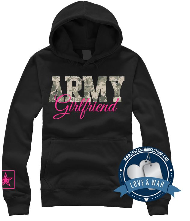Army Girlfriend v2 Top - LOVEANDWARCLOTHING