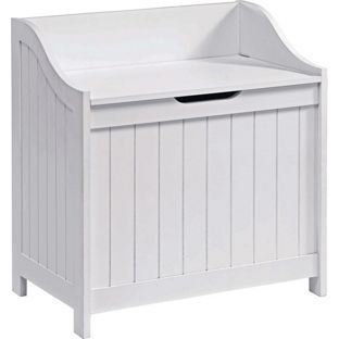 Laundry box or hallway seat to put shoes on!