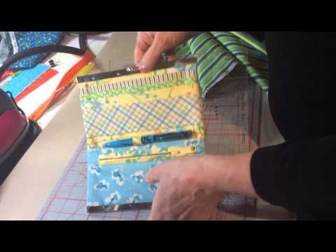 Awesome template is used to make Quick Clutch wallet ...