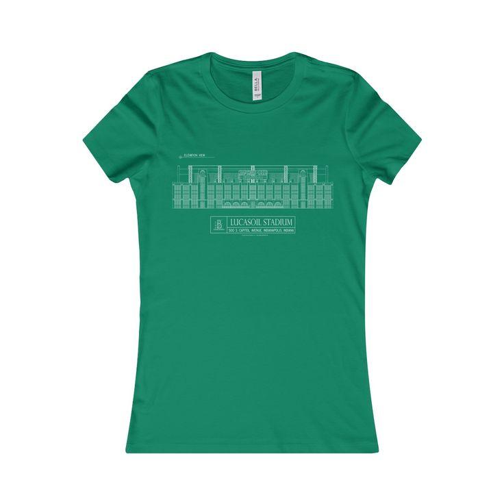 Lucas Oil Stadium Women's Favorite Short-Sleeve Tee